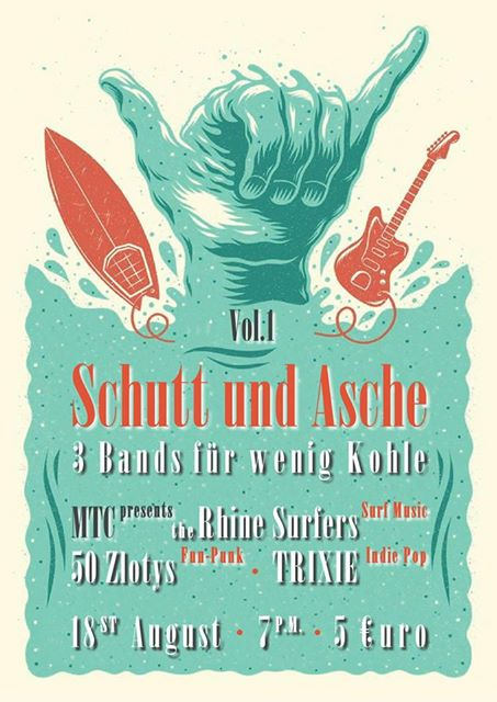 The Rhine Surfers Live